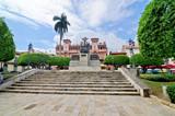 Fototapeta City - La Plaza Bolívar in Casco Viejo de Panama © robnaw