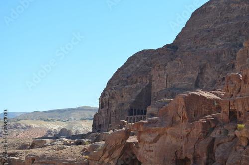 Fotobehang Pool Petra
