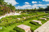 Garden at Che Guevara monument in Santa Clara, Cuba