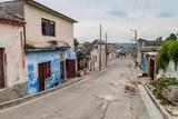 MATANZAS, CUBA - FEB 16, 2016: Street life in the center of Matanzas, Cuba