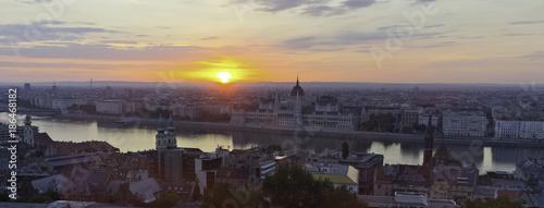 Papiers peints Budapest Budapest at sunrise
