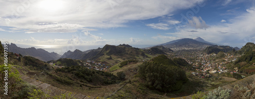 Foto op Canvas Canarische Eilanden Panoramic view tide, Tenerife