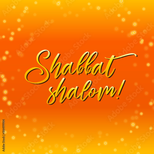 Shabbat shalom lettering greeting card vector illustration hebrew shabbat shalom lettering greeting card vector illustration hebrew words shabbat shalom and starry m4hsunfo