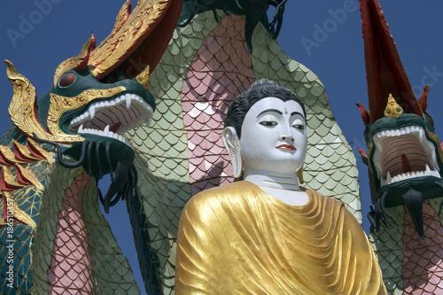 Poster Boeddha Buddha Image - Monywa - Myanmar