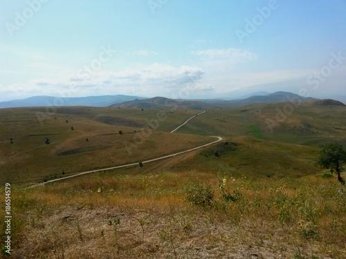 Fotobehang Pool View from Five Fingers Azerbaijan