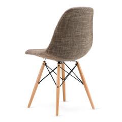 Modern design kitchen chair isolated on white background