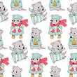 Cartoon mice - 186527356