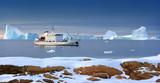 Greenland - Tourist Icebreaker - Arctic poster