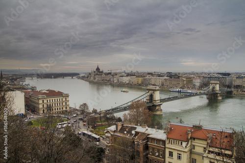 Papiers peints Budapest Budapest, Danubio