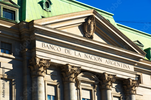 In de dag Buenos Aires National Bank of Argentina, Buenos Aires
