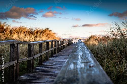Foto auf Acrylglas See sonnenuntergang Juist Töwerland Winterimpressionen