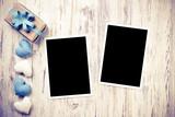 Blank photo card  - 186585970