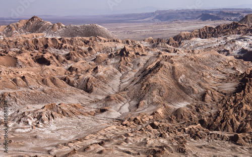 Foto Murales Valley of the Dead - Atacama Desert - Chile