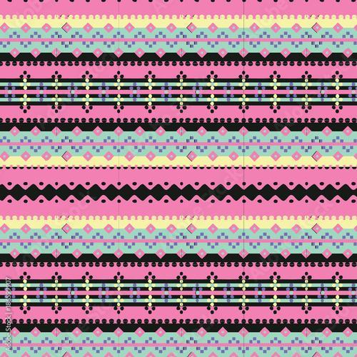 tribal aztec pattern - 186599907