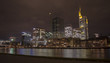 Panorama of the city of Frankfurt, in Germany
