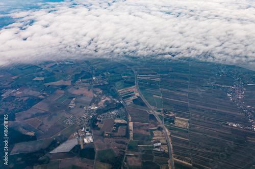 Luftbild ländliche region - 186618105