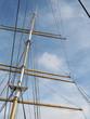 Three mast boat rigging, Glasgow 2017