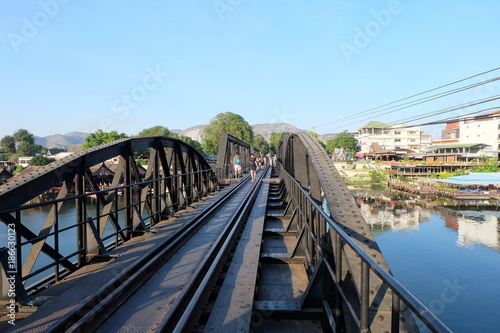 Foto op Canvas Pool The Bridge of the River Kwai