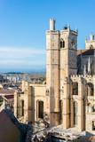 Saint Just et Saint Pasteur Cathedral in Narbonne, France