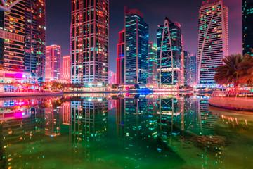 Jumeirah Lake Towers in Dubai near Marina