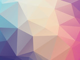 vector abstract soft pastel triangles background