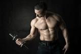 Man's power body - 186655977