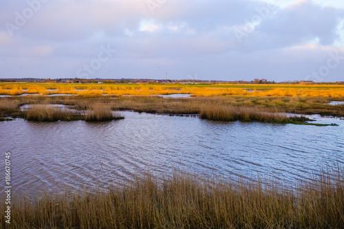 Foto op Canvas Noordzee Siel an der Nordsee