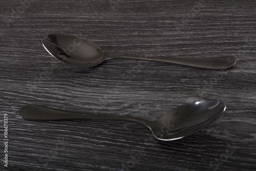 Fotobehang Dolfijn flatware silverware cutlery