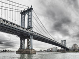 Manhattan Bridge. - 186695123