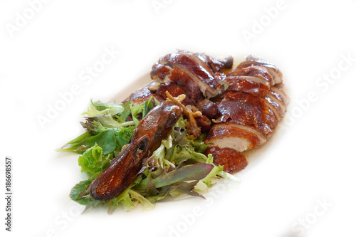 Foto op Canvas Peking Roasted duck Chinese style