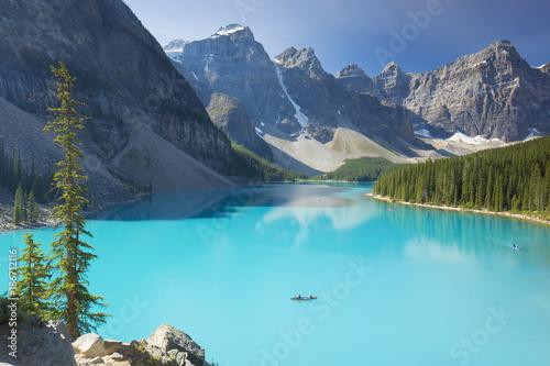 Foto op Aluminium Canada Moraine Lake in Kanda