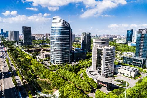 Foto op Plexiglas Kiev Modern city scenery