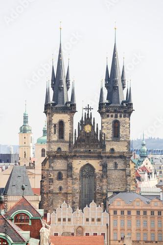 Center of Prague, Czech Republic Poster