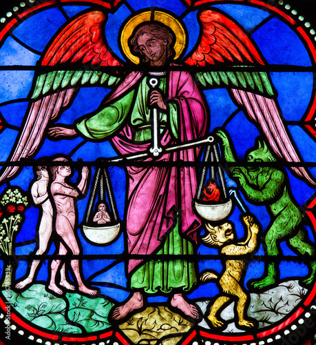 Naklejka Saint Michael