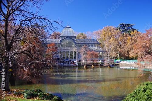 Foto op Aluminium Madrid Palacio de Cristal, Madrid, Spain
