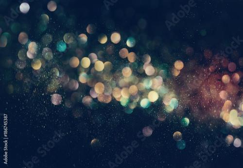 Sticker Beautiful abstract shiny light and glitter background