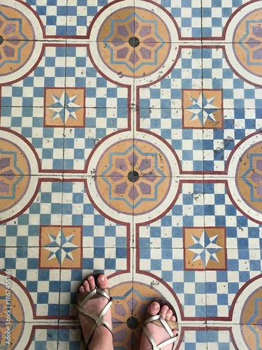 Tiles of Valladolid - 186745586