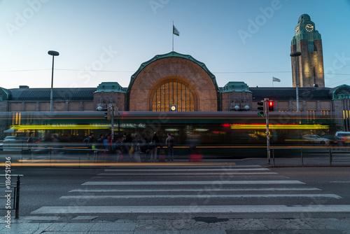 Fotobehang London Central Railwaystation of Helsinki