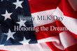 Martin Luther King Day background