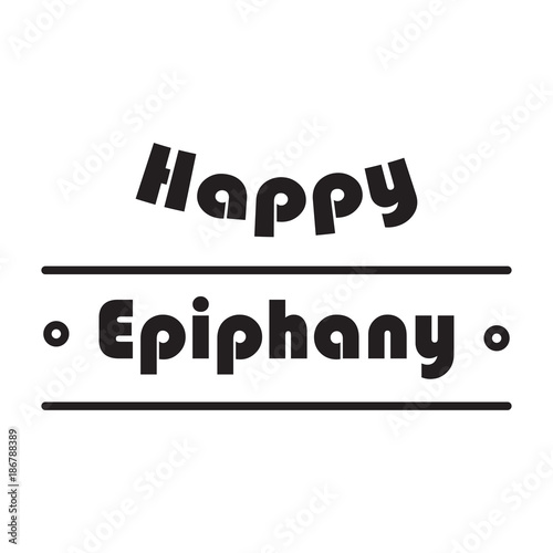 happy epiphany banner and background