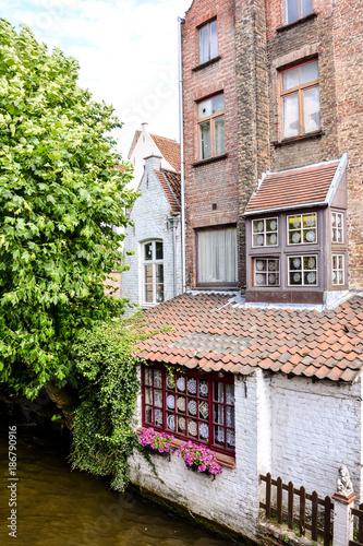 Papiers peints Bruges Classic Architecture European Building Village Brugge