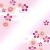 桜 和風 さくら 和柄 日本 春 - 186806787