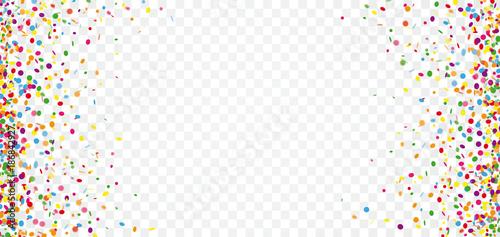 Colored Confetti Transparent...