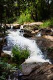 Natural waterfall landscape environment at Thailand