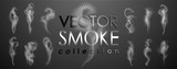 Smoke vector collection, isolated, transparent background. Set of realistic white smoke steam, waves from coffee,tea,cigarettes, hot food,... Fog and mist effect. - 186858752