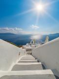 View on Oia in Santorini - 186866179
