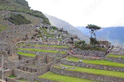 Staande foto Grijs Machu Picchue