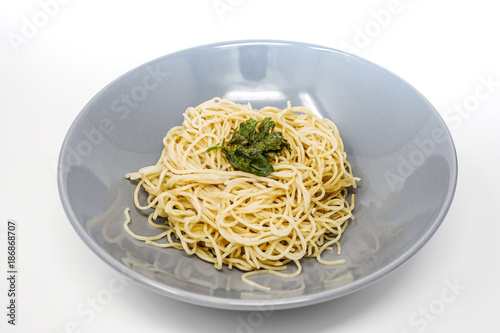 asian food noodles on the table - 186868707