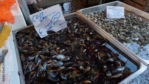 Fotobehang Palermo Palermo Sizilien Italien Markt Fischmarkt