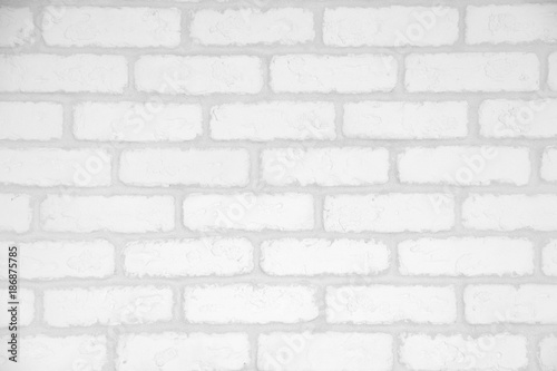 white  decorative brick wall - 186875785
